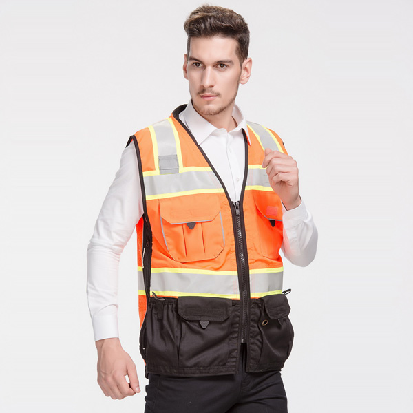heavy duty safety vest a
