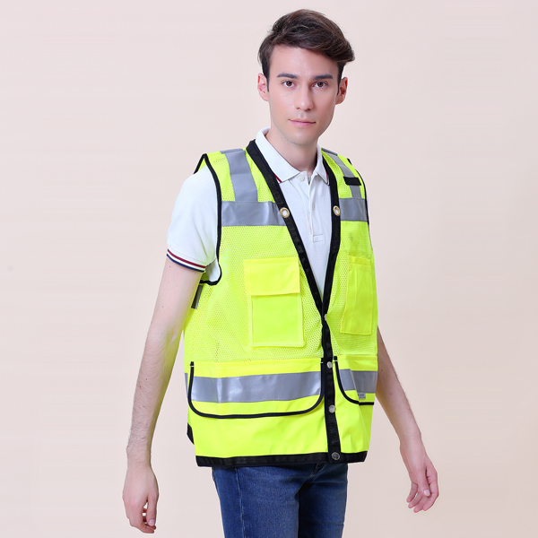 heavy duty surveyor safety vest a
