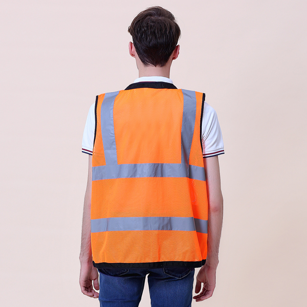 heavy duty surveyor safety vest d