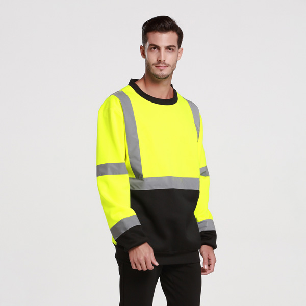 men s reflective safety sweatshirts a
