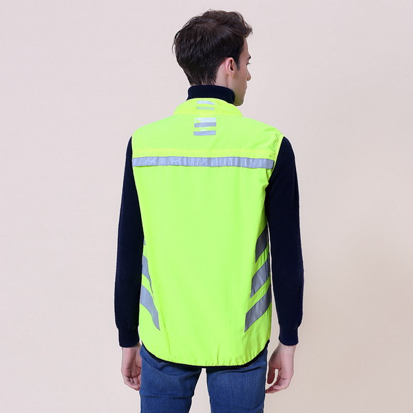 reflective cycling vest b